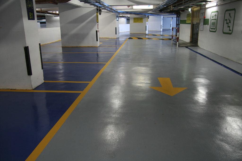 Pavimentos para Parking