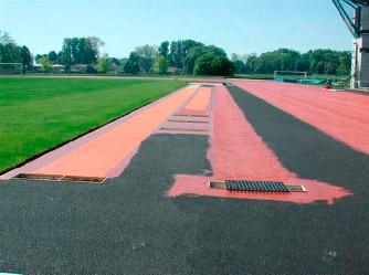 Pavimentos pistas de atletismo