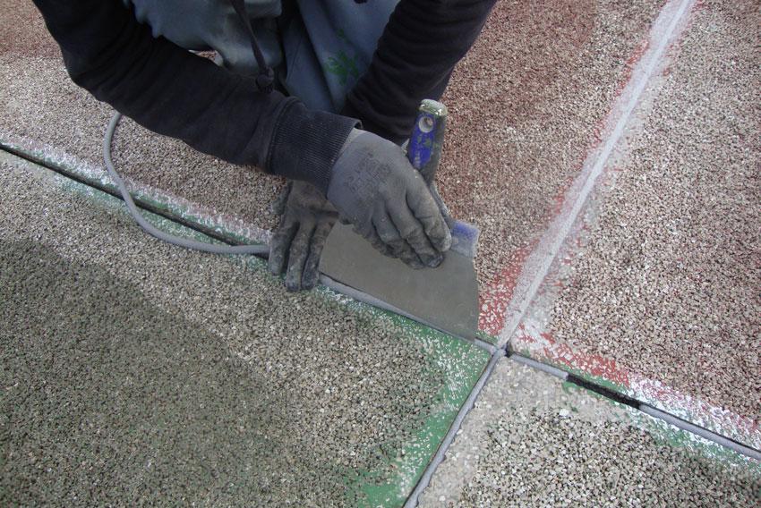 Reparación pistas de tenis en Madrid